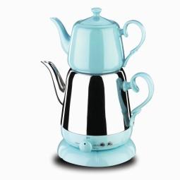 Nosta Electrical Tea Pot -Blue/Elektrikli Cay Takimi/A339-03